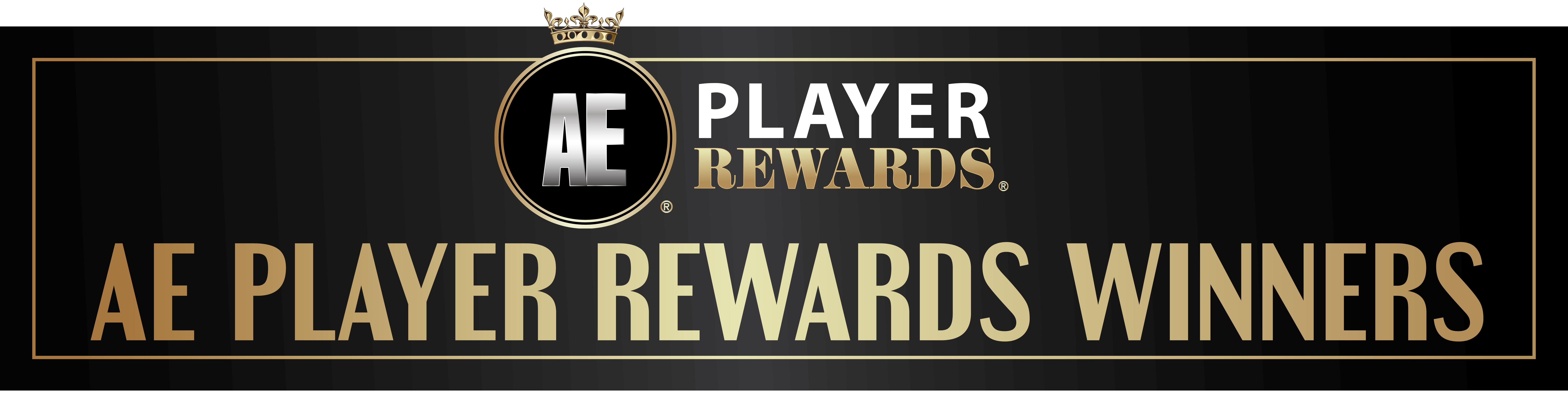 AE Player Rewards Winners