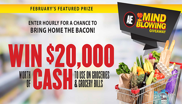 Mind Blowing Giveaway February Featured Prize
