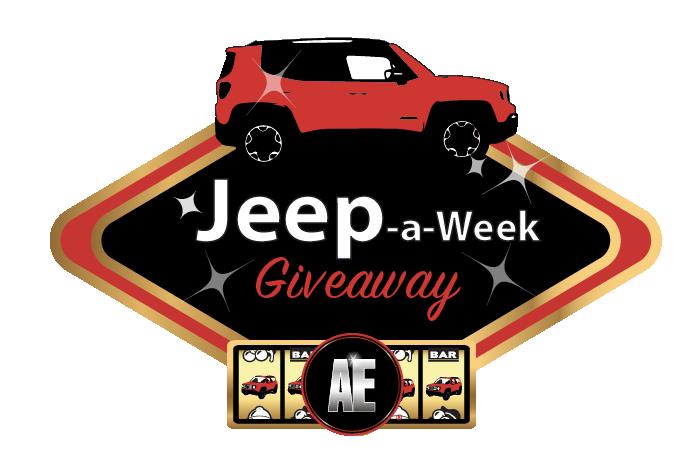 2018 AE Sweeps Jeep a Week JAW Logo