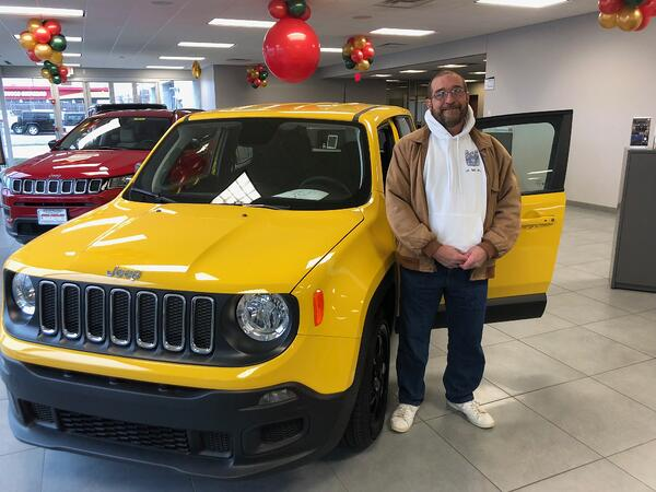 Jeep-a-Week Winner Week 2