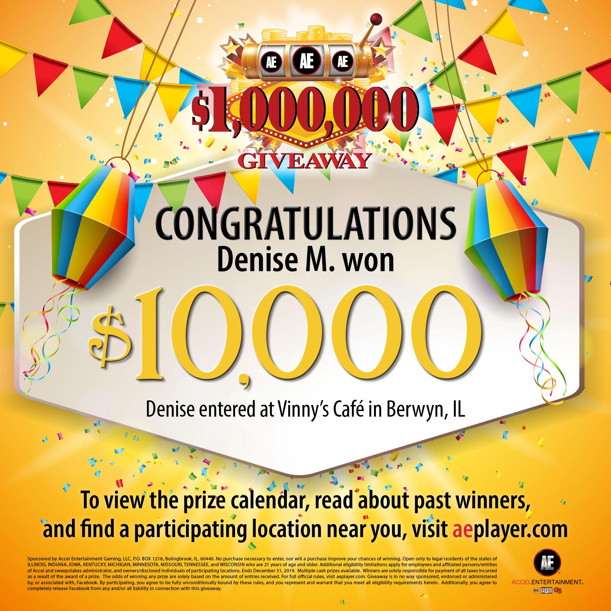 Wall of Winners | Million Dollar Giveaway