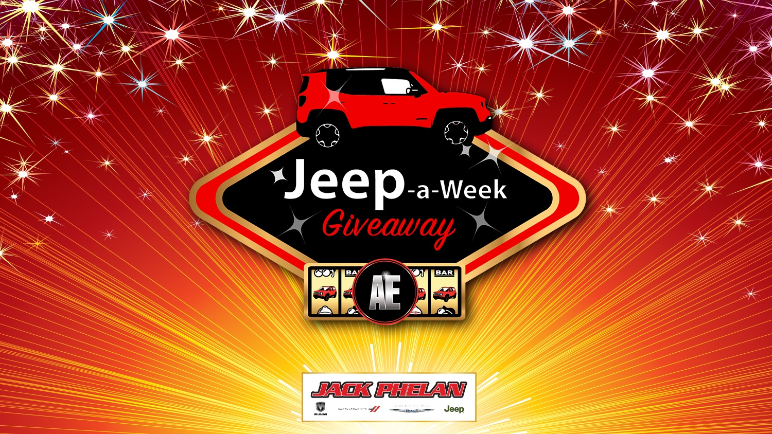 Rev Up Your Fall With Accel Entertainment's Jeep-a-Week Giveaway